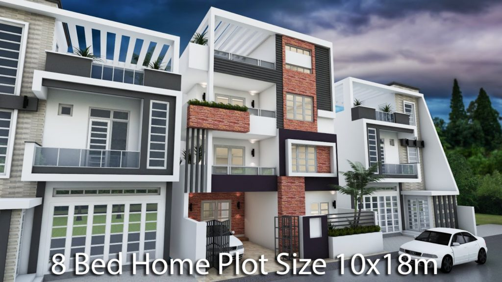 Story House Home Plan Xm With Bedrooms This Villa Is Modeling By With Stories Level Itus Has Bedrooms With  Stories House
